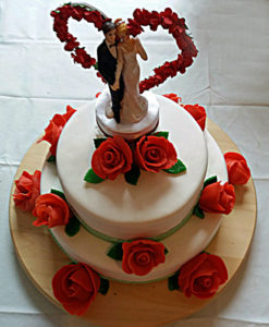 Etagentorte zur Hochzeit Bäckerei Jesse