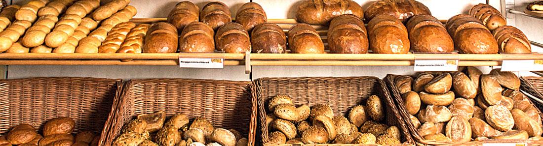 Brot und Brötchen in der Bäckerei Jesse